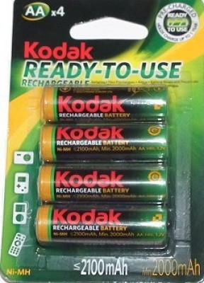 Kodak AA Ready to Use battery Rechargeable Alkaline Battery