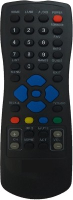 VBEST SUN DIRECT DTH Remote Controller(Black)