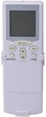 MEPL MEPL AC REMOTES COMPATIBLE WITH HITACHI AC137 Remote Controller(White)