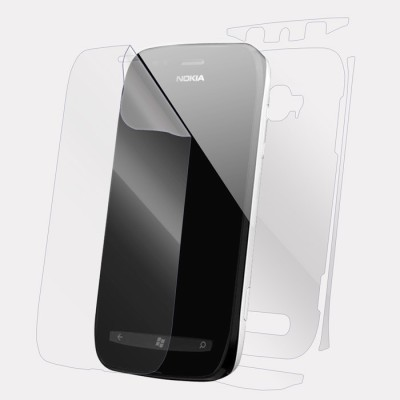 Snooky Front and Back Screen Guard for Nokia Lumia 630(Pack of 1)