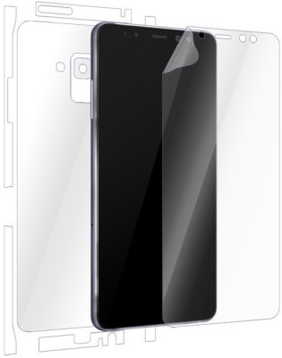 Snooky Front and Back Screen Guard for Samsung Galaxy A8 Plus(Pack of 1)