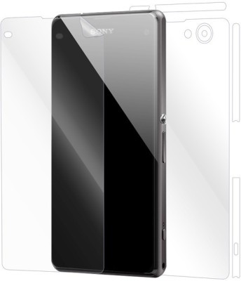 Snooky Front and Back Screen Guard for Sony Xperia Z1 Compact(Pack of 1)