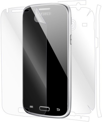 Snooky Front and Back Screen Guard for Samsung Galaxy Core I8260(Pack of 1)