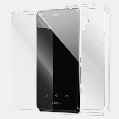 Johra Screen Guard for Sony Xperia T2 Ultra Front & Back(Pack of 2)