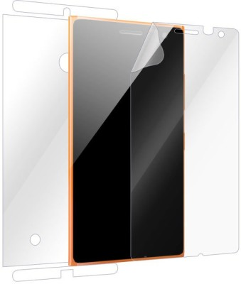 Snooky Front and Back Screen Guard for Nokia Lumia 730(Pack of 1)