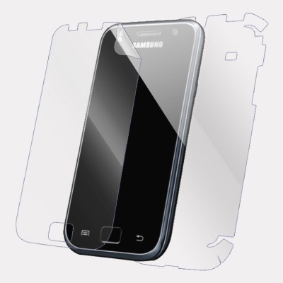 Snooky Front and Back Screen Guard for Samsung Galaxy S i9000(Pack of 1)