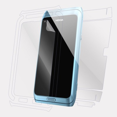 Snooky Front and Back Screen Guard for nokia e7(Pack of 1)
