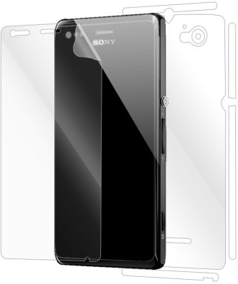 Snooky Front and Back Screen Guard for Sony Xperia M(Pack of 1)