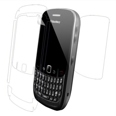 Snooky Front and Back Screen Guard for Blackberry Curve 8520(Pack of 1)