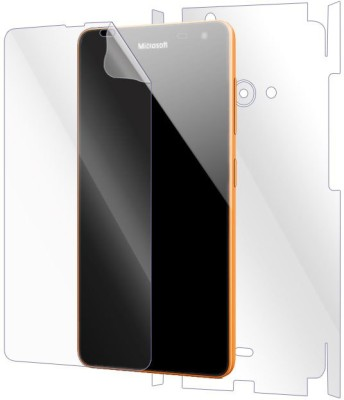 Snooky Front and Back Screen Guard for Microsoft Lumia 535(Pack of 1)