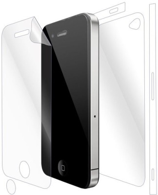 Snooky Front and Back Screen Guard for Apple iPhone 4(Pack of 1)