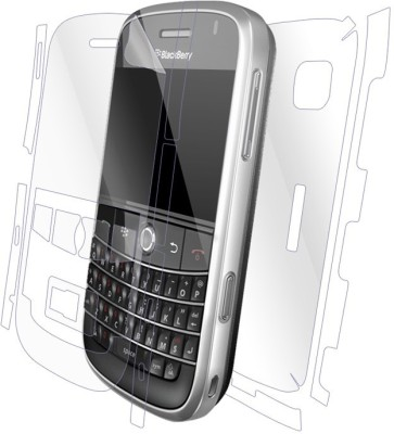 Snooky Front and Back Screen Guard for Blackberry Bold 9000(Pack of 1)