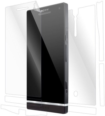 Snooky Front and Back Screen Guard for Sony Xperia S(Pack of 1)