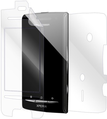 Snooky Front and Back Screen Guard for Sony Ericsson Xperia X8(Pack of 1)
