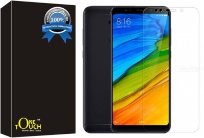 One Touch Tempered Glass Guard for Mi Redmi Note 5(Pack of 1)