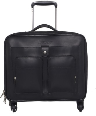 Mboss Laptop Strolley Small Travel Bag  - Medium(Black) at flipkart