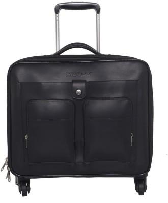 Mboss Laptop Strolley Small Travel Bag  - Medium(Black) at flipkart