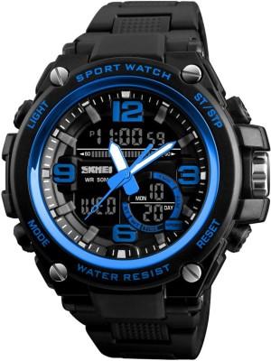 SKMEI Gmarks  1340 Blue Sports Analog Digital Watch   For Men SKMEI Wrist Watches