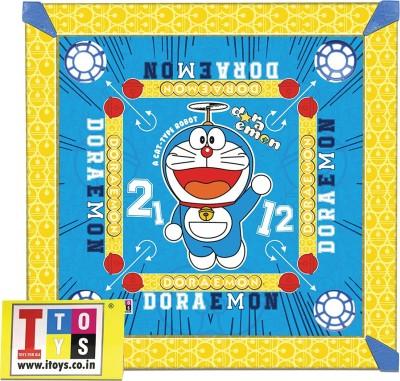 Doraemon carrom board for kids In 20*20 size Board Game