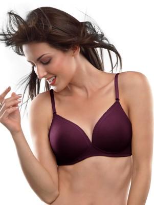 Lovable Women Full Coverage Heavily Padded Bra(Purple)