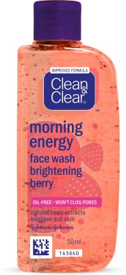 Clean & Clear Morning Energy Brightening Berry Face Wash(50 ml)