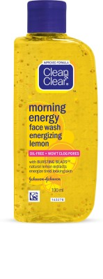 Clean & Clear Morning Energy Face Wash- Lemon (100ml)