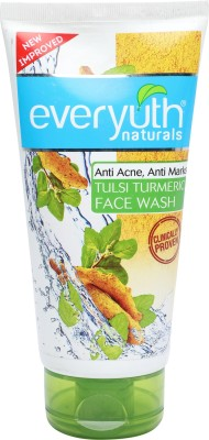 Everyuth Naturals Tulsi Turmeric Face Wash For Unisex, 150 ML