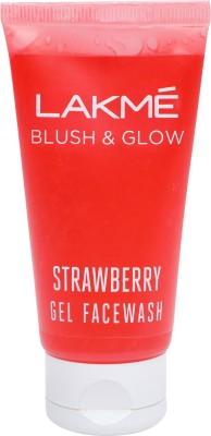Lakme Blush and glow Lemon Facewash Face Wash (Strawberry, 50GM)