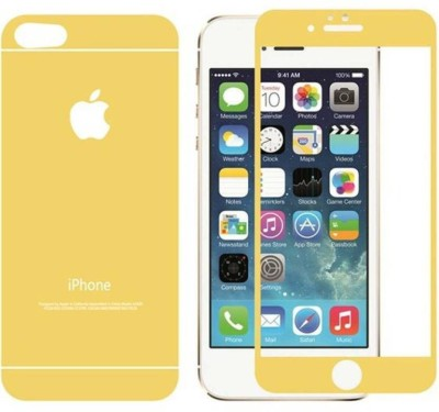 Case Creation Front and Back Tempered Glass for Apple iPhone 5s(Pack of 2)