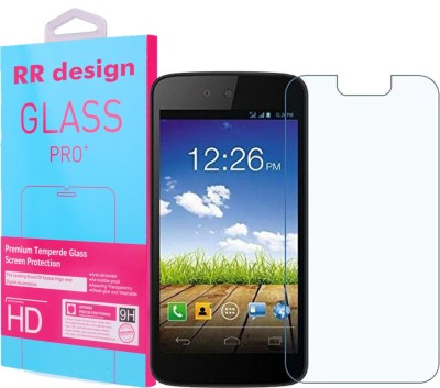 RR Design Tempered Glass Guard for Micromax Canvas C1A(Pack of 1)