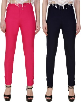 Blugee Regular Fit Women Pink, Pink Trousers