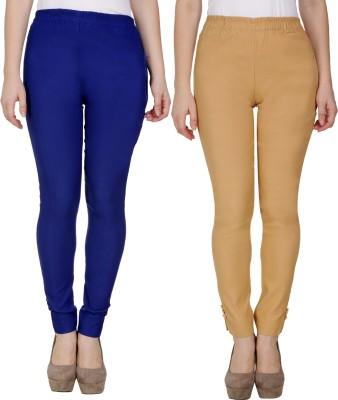 Sijon Regular Fit Women Blue, Beige Trousers