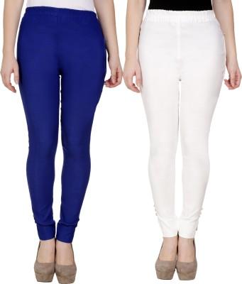 Sijon Regular Fit Women Blue, White Trousers