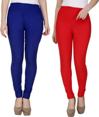 Sijon Regular Fit Women Blue, Red Trousers