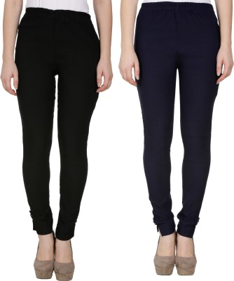 Sijon Regular Fit Women Dark Blue, Red Trousers