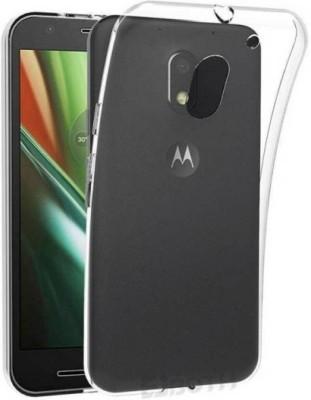 MOB Back Cover for Motorola Moto E3 Power(Transparent)