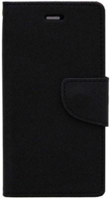 Doyen Creations Flip Cover for Micromax Yu Yureka(Black, Dual Protection, Artificial Leather)
