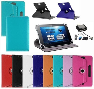 Geocell Flip Cover for iBall Slide 3G 7345Q-800 Tablet (3G+8GB)(MultiColor, Shock Proof)