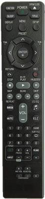 LipiWorld AKB37026832 Remote Control Compatible for System LG Remote Controller(Black)