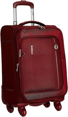 VIP UNICORN X 4W EXP STROLLY 56 MAROON Expandable  Cabin Luggage - 21 inch(Maroon)