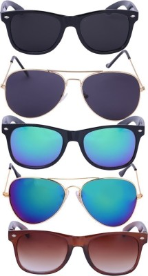 Amour Propre Wayfarer, Aviator Sunglasses(Multicolor)