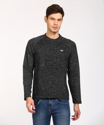 Wildcraft Full Sleeve Self Design Men Sweatshirt
