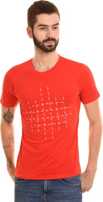 Campus Bunny Graphic Print Men Round Neck Red T-Shirt Flipkart