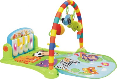 Playhood Baby Kick & Play Piano Musical Activity Gym(Green, Blue, Red, Yellow)