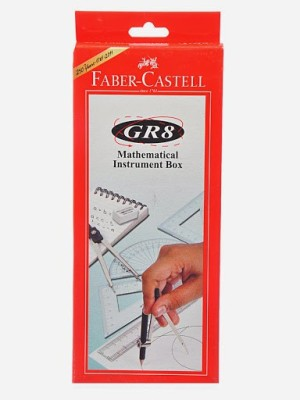 Faber-Castell 163020 Geometry Box(Red)