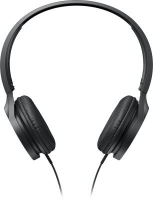 Panasonic RP-HF300E-K Wired Headphone(Black, On the Ear)