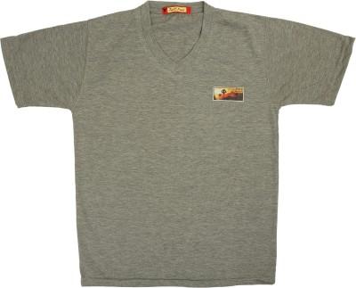c9ecb1b5 58% OFF on Tollfree Boys Solid Cotton T Shirt(Grey, Pack of 1) on Flipkart  | PaisaWapas.com