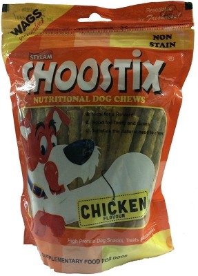 Choostix Chicken Nutritonal Dog Chew Stix 450gm Chicken 3600 g Dry Dog Food(Pack of 8)
