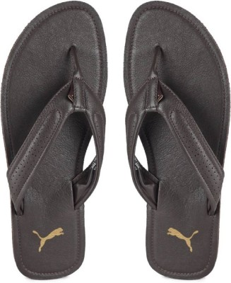 f1b8f21ef9dd 41% OFF on Puma Brown Synthetic Leather Casual Flip Flop Slippers on  Flipkart