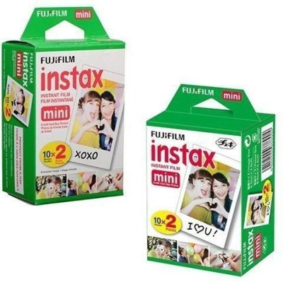 Fujifilm Instax Mini 40 Sheet Film Roll(Yes 800 ISO Pack of 40)